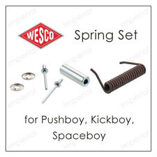 Genuine WESCO Bin Replacement Parts SPRING SET for Flap Pushboy Kickboy Junior