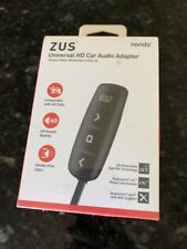 Nonda ZUS Universal HD Bluetooth and AUX Car Audio Adapter FM Transmitter New