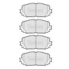 Borg & Beck Anteriore Set Pastiglie dei Freni Si Adatta Toyota Yaris/Yaris 1.0, 1.3, 1.8 ventricolare R SINCRONIZZATO-I