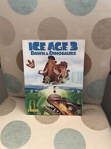 Panini Ice Age 3 Dawn of the Dinosaurs Sticker Album Complete VGC