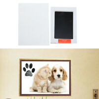 Baby Handprint Footprint Kit,Pet Paw Print Pad Photo Frame Touch Newborn