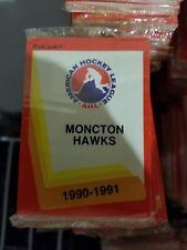 1990-91 Pro Cards AHL MONCTON HAWKS Hockey Team Set Sealed
