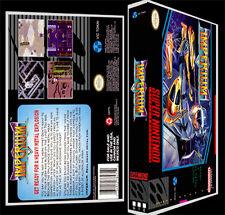 Imperium - SNES Reproduction Art Case/Box No Game.