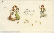 "Postkarte ""Fröhliche Ostern"" nach Lemgo / Lippe um 1917"