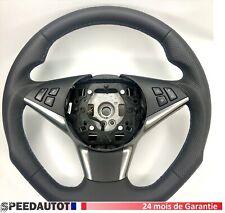 Échange  Volant Plat Noir BMW 5 E60, E61. 24MOISDEGARANTIE