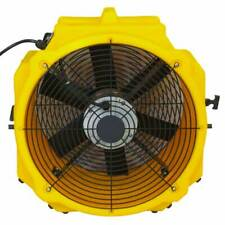 Zoom AX-25 1/4 HP Axial Air Mover Carpet Dryer Blower 2 Speed 3900 CFM Floor Fan