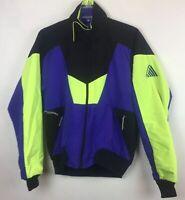 Vintage Cannondale Size S Ski Jacket Coat Lined Unisex Awesome Color Block