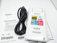 Sony MHS-PM5 HD BLOGGIE Appareil Photo Numérique Vidéo Caméscope de poche Mobile Snap Blanc