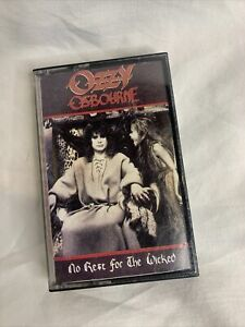 No Rest For The Wicked by Ozzy Osbourne (Cassette, 1988, CBS)