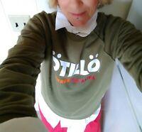 Women's OTILLO CATALINA ISLAND Fjallraven Sweatshirt Jumper Sweater SWIMRUN