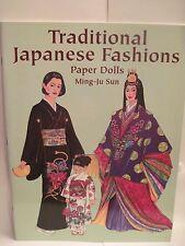 Ming-Ju Sun Traditional Japanese Fashions Paper Dolls