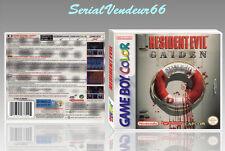 """Boitier du jeu """"RESIDENT EVIL GAIDEN"""", Game Boy Color. PAL FR. HD. SANS LE JEU."""