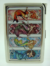 Mermaids 01 Cigarette Case with Lighter Women of the Sea Mythical Creature