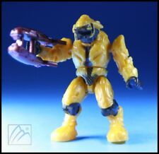 HALO MEGA BLOKS COVENANT YELLOW ELITE COMBAT W/ PLASMA RIFLE MINI FIGURE