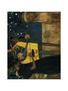 Gustav Klimt - The Music 1895 Print 60x80cm