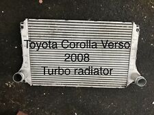 Toyota Corolla Verso Turbo Radiator