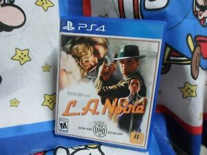 Playstation 4 L.A. Noire Game