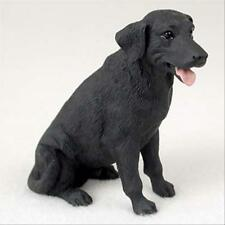 Labrador Retriever Black Dog Hand Painted Canine Collectable Figurine Statue
