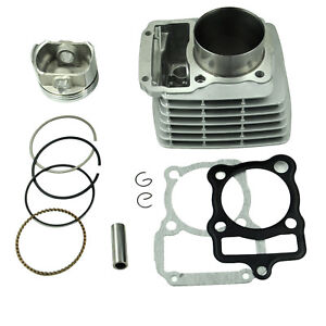 65.5mm CG 200cc Piston Rings Bore Kit Cylinder Gaskets Kit Pit Dirt Bike Quad