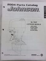 2004 Johnson 60 70 J60 J70 PL4SRR Parts Catalog 4-Stroke 5034424 Outboard