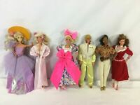 Vintage Barbie Doll, Ken & More Lot of 6 - 70s and 60s - FREE SHIPPING