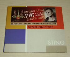 STING Symphonicities CD 2010 12trk with Dutch Promotional Sticker on Front