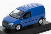 VW Volkswagen Caddy Van in Blue, official dealership model 1:43 scale