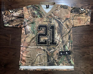 GREEN BAY PACKERS #21 Charles Woodson NFL FOOTBALL JERSEY Mens Medium Camoflage