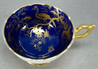 Coalport Cairo Gold On Cobalt Porcelain Bone China Tea Cup