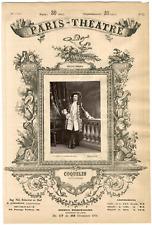Lemercier et Cie, Paris-Théâtre, Benoît Constant Coquelin dit Coquelin aîné (184