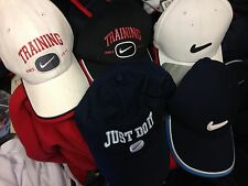 NIKE BASEBALL CAP  CHOICE OF 5 AT £ 5 EACHONE SIZE VINTAGE FLEXI FIT BUCKLE