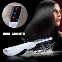 Électrique Peigne Laser Infrarouge Brosse Croissance Anti-Chute Cheveux Massage