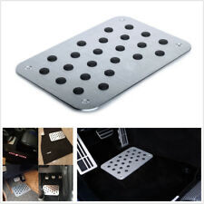 Universal Car Floor Mat Carpet Thick Aluminiun Heel Plate Pedal For All Car