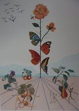 Salvador Dalì, Flordalì II, 103x72,2 cm, litografia a colori, 1981