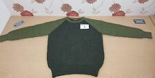 Supersoft Shetland Tundra Apple Green Unisex Jumper sweater fishing game 42""