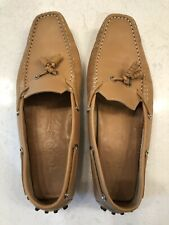 Tod's Camel Leather Driving Moccasins Womens 11- Prime Condition