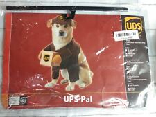UPS Delivery Driver Dog Size Small Halloween Pet Costume no box