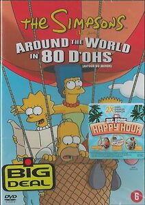 The Simpsons - Around The World In 80 D'ohs   New dvd in seal