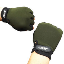 Antiskid Cycling Bike Gym Fitness Sport Fingerless Gloves Weight Lifting  Chic
