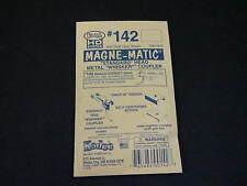 Kadee HO Scale Metal Knuckle Couplers - #142 Medium Overset Whisker (2 pr)