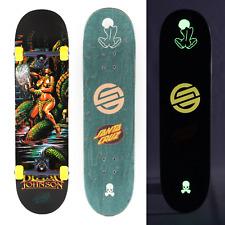 "Santa Cruz Warrior 8.375"" Johnson Ultimate Pro Complete Skateboard Thunder Bones"