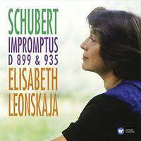 Elisabeth Leonskaja - Schubert: Impromptus D899 and D9 [CD]