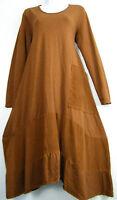 100% COTTON DRESS  3/4 SLV  ONE FRONT POCKET 10 COLS ONE SIZE : REGULAR (12-16)
