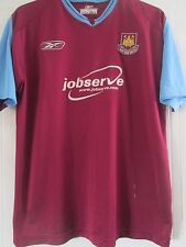 West Ham 2004-2005 Home Football Shirt Size Large /41263