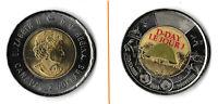 2019 D-Day Commemorative Canada 2 $ Dollar Coin Toonie Normandy war WW2 Queen