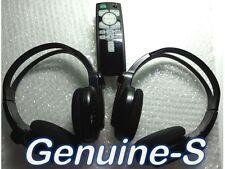 OEM 2014-2016 QX60 QX70 QX80 Infiniti Car Entertainment 1 remote & 2 headphones