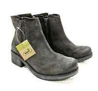 Naot Women's Wander 17609 Ankle Boots Size 38 US 7 Brushed Oily Midnight Suede