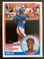 1983 Topps Traded DARRYL STRAWBERRY RC #108T, Mets Rookie