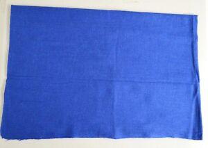 100% Royal Blue Cashmere Shawl Pashmina Scarf Wrap Stole Women Wool Soft 5