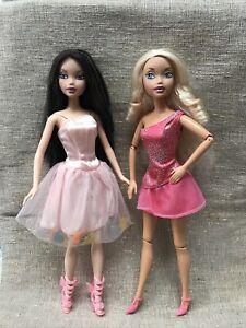 Mattel My Scene Barbie Dolls Lot of 2